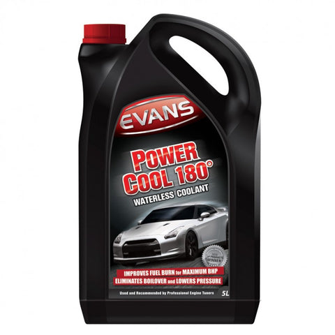 Evans Power Cool 180 Waterless Coolant for Dirtbikes, Street & ATV 5 Litre Bottle