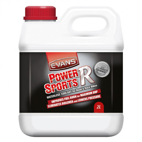 Evans Power Sports R Waterless Coolant 2 Litre Bottle for Street And Road Race Bikes