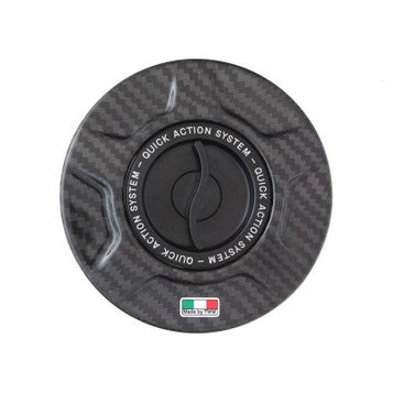 Ducati 899, 959, 1199/S/R Superleggera / 1299/S & V4 Carbon Fiber TWM Quick Action Fuel Cap
