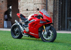 Ducati Panigale V4 & V4R 2018-19 Spark 3/4 kit: S.STEEL Collector + silencer GRID-O