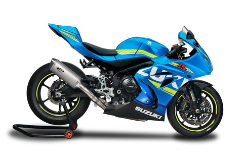 SUZUKI GSX-R 1000/ R (17-19) Spark Racing FULL SYSTEM: S.STEEL collector + FORCE silencer