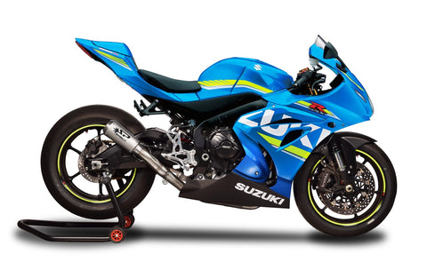 SUZUKI GSX-R 1000/ R (17-19) Spark Racing FULL SYSTEM: S.STEEL collector + MOTO GP silencer WEIGHT (KG)