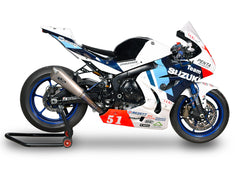 SUZUKI GSX-R 1000/ R (17-19) Spark Racing FULL SYSTEM: S.STEEL collector + KONIX silencer