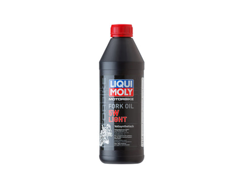 LIQUI MOLY - FORK OIL - 5W LIGHT - 1 LITRE