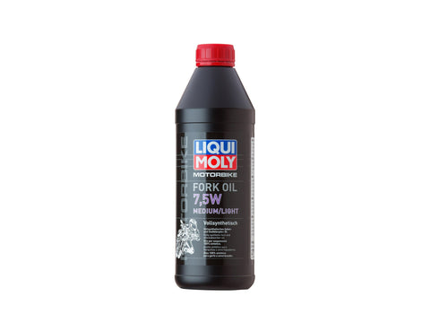 LIQUI MOLY - FORK OIL - 7.5W LIGHT - 1 LITRE
