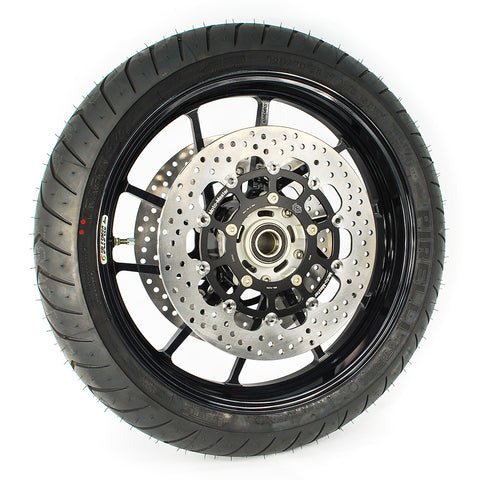 Triumph Street Triple 765R/RS & S Moto Master 5.5mm Halo Race Floating Front Disc Set