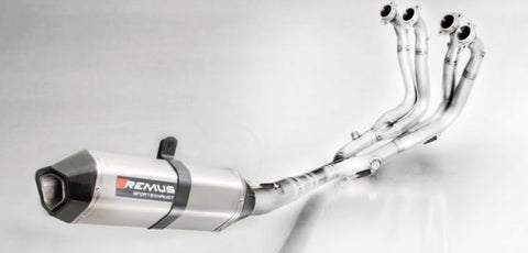 BMW S1000RR 2015-18 Remus HEXACONE Full Race System with Stainless Steel Headers