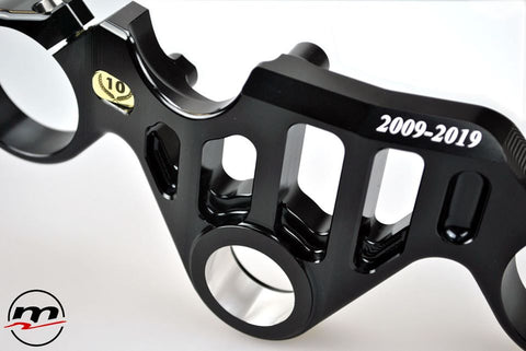 Aprilia RSV4 2009-19 Melotti Racing Top Yoke 10 Anniversary – Road version