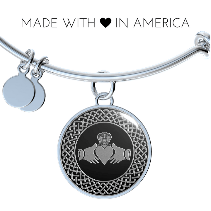 Jewelry Bangle Bracelet The Claddagh Ire In My Blood