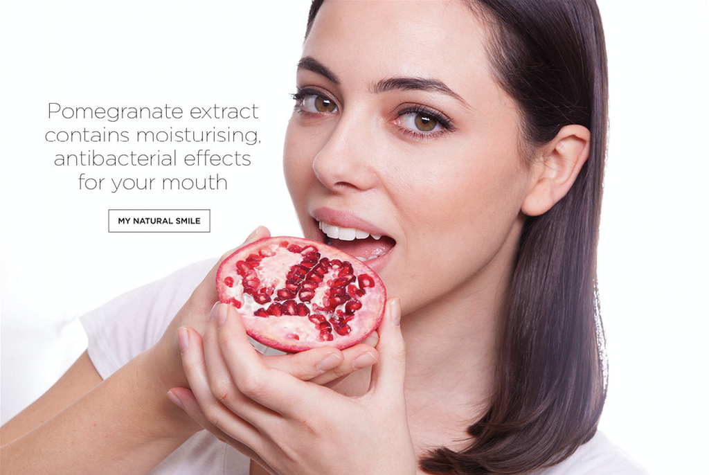 Pomegranate is your dental superfood...