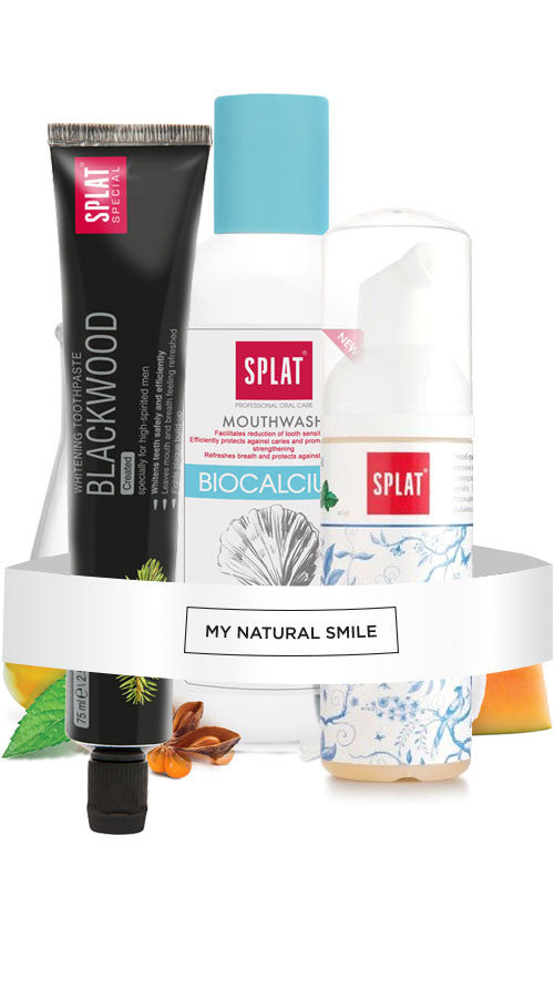 SPLAT Charcoal Blackwood Teeth Whitening Pack - mynaturalsmile