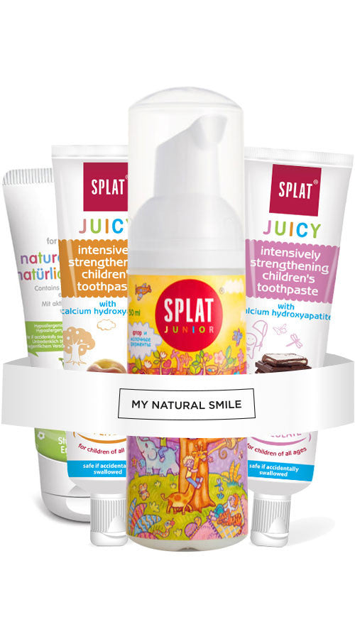 Splat Junior Multi- Flavour Toothpaste pack