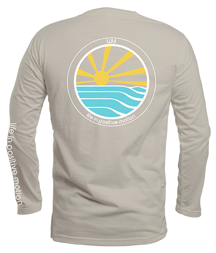 Step into Sunshine Long Sleeve Crew - Almond Milk