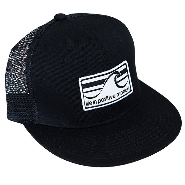 2e5512995166b Wave Trucker Hat - Black