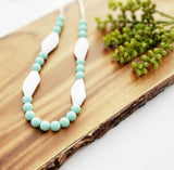 The Pria Silicone Teething Necklace - 3 Color Options