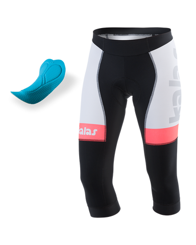 Kalas - Knickers - 3/4 Length Tights - (NO BIBS) (Endurance 3D Pad) ARCO-ELITE 78 | Lycra Power n60118-LA78