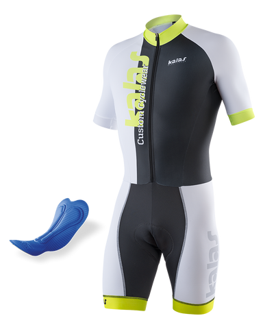 Kalas - Skinsuit Short Sleeve  ELITE-A 38| Lycra Power | MEN n50528-MA38