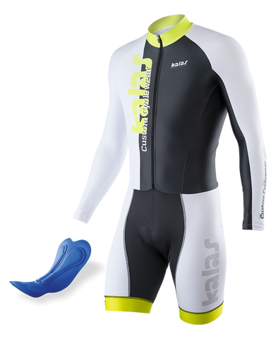 Kalas - Skinsuit Long Sleeve  ELITE-A 38| Lycra Power | MEN n50528-MA38