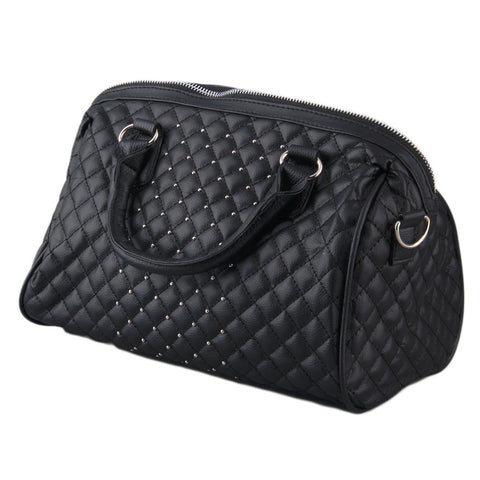 Ladies PU Leather Shoulder Handbag