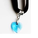 6 Colors Heart Velvet pendant Choker