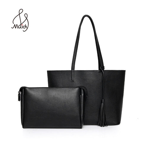 Genuine Real Saffiano Leather Luxury Handbags for Women