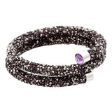 New Fashion 6colors Single & Double Crystal dust Bracelets For Women