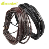 High Quality Diomedes Fashion Men & Women Leather Wrap Bracelet
