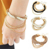 Handmade Braided Multilayer Bracelet