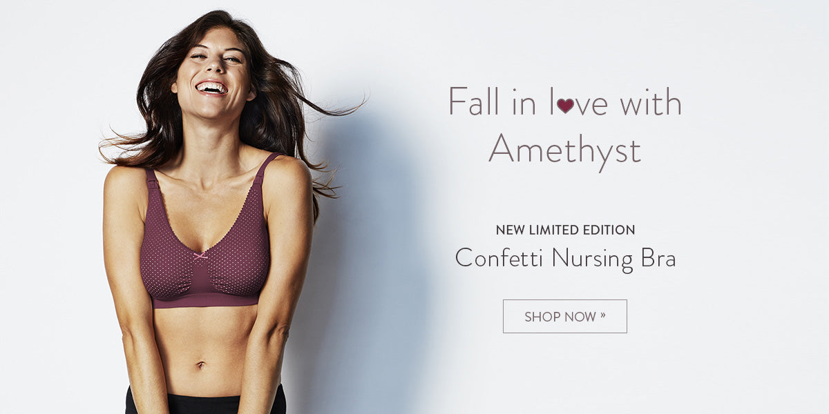 New Confetti Nursing Bra