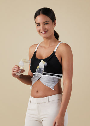 Bravado Designs maternity and nursing bra | Clip and Pump™ Hands-Free Nursing Bra Accessory