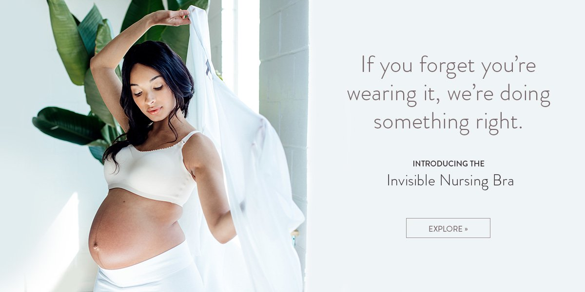 Invisible Nursing Bra