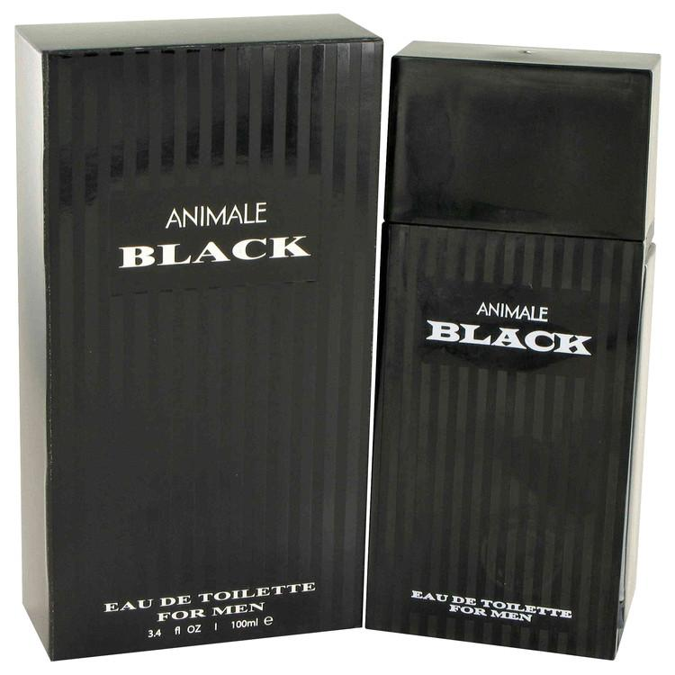 Animale Black by Animale Eau De Toilette Spray 3.4 oz