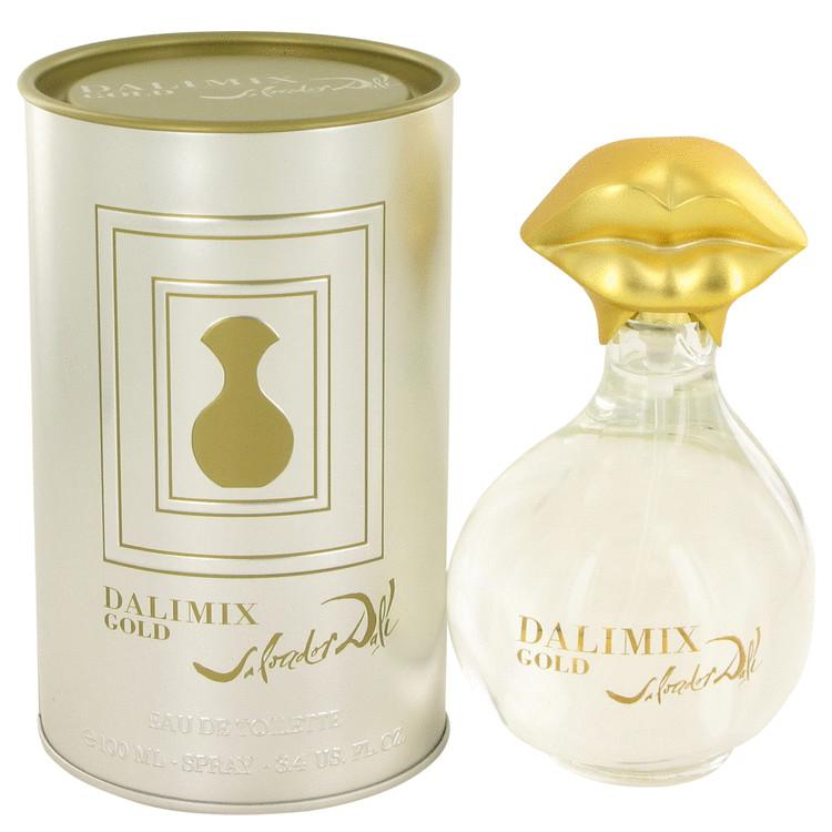 Dalimix Gold by Salvador Dali Eau De Tiolette Spray 3.4 oz