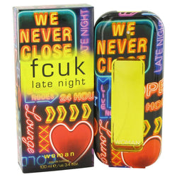 FCUK Late Night by French Connection Eau De Toilette Spray 3.4 oz