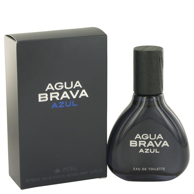 Agua Brava Azul by Antonio Puig Eau De Toilette Spray 3.4 oz