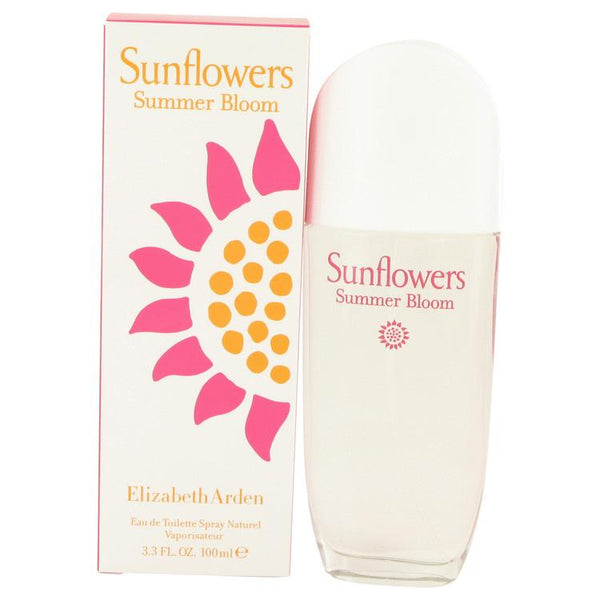 Sunflowers Summer Bloom by Elizabeth Arden Eau De Toilette Spray 3.3 oz