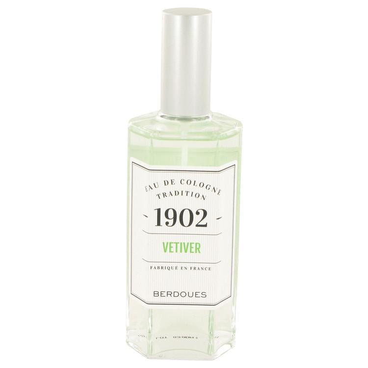 1902 Vetiver by Berdoues Eau De Cologne Spray (Unisex) 4.2 oz