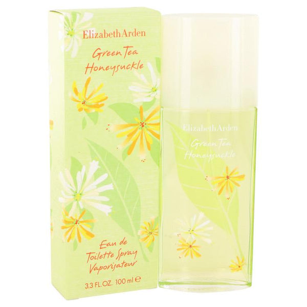 Green Tea Honeysuckle by Elizabeth Arden Eau De Toilette Spray (Tester) 3.3 oz