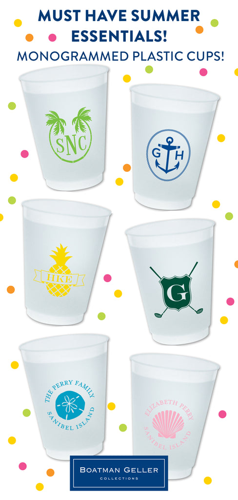 New to the Shop - Monogrammed Cups!