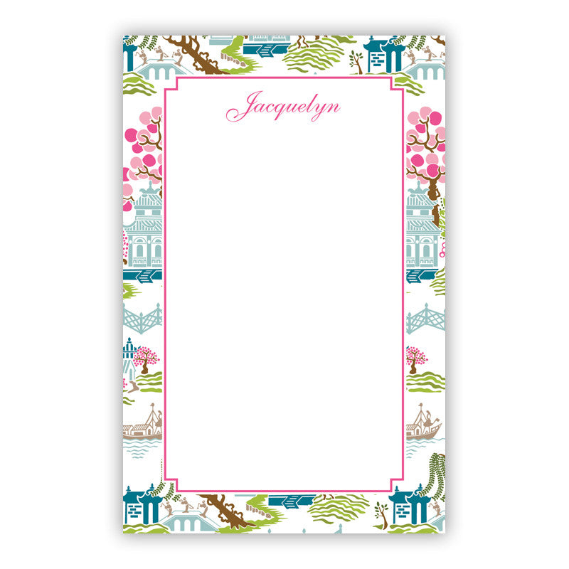 Chinoiserie Spring Notepad