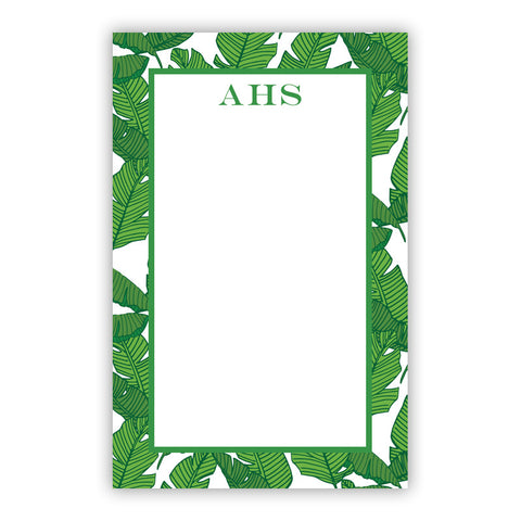 Banana Leaf Notepad