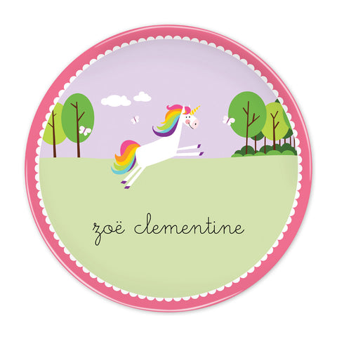 BG Unicorn Plate