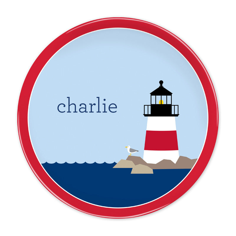 Lighthouse-Plate