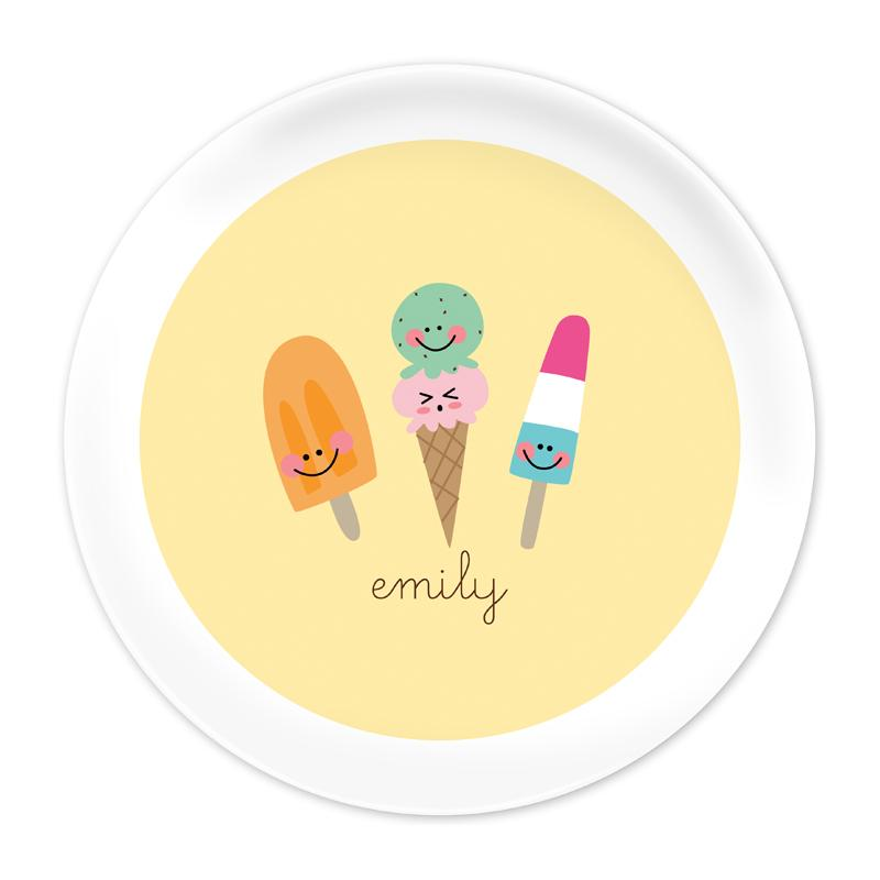 Icy Treats Plate