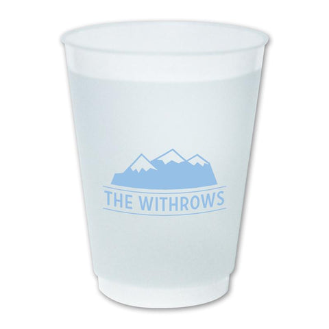 Mountain Monogram Cup