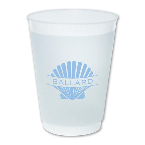 Shell Name Monogram Cup