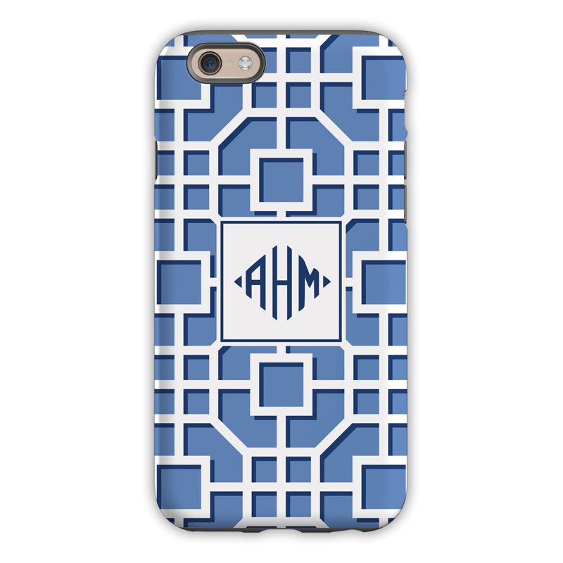 Fret Navy iPhone Case