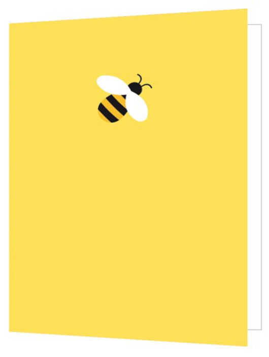 Bee, Bright New Things Mini Card, BNT49