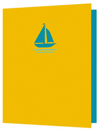 Sailing Boat, Bright New Things Mini Card, BNT31