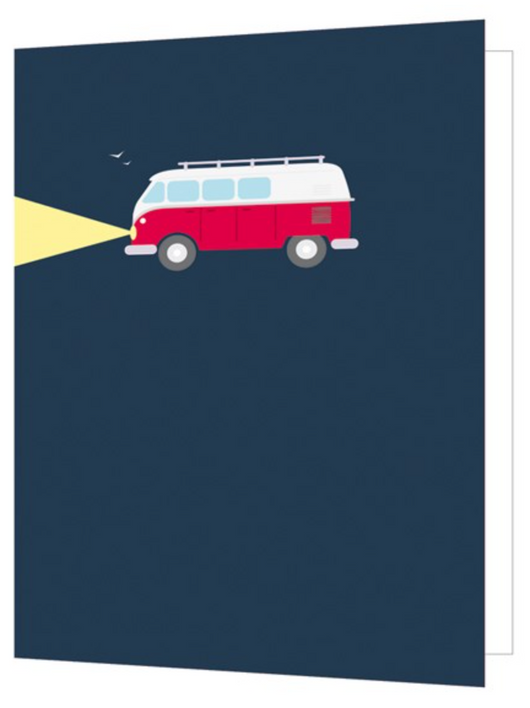 Camper Van, Bright New Things Mini Card, BNT54